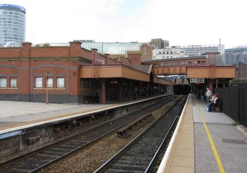 Birmingham Moor Street Station platforms