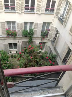 Paris, 2014. View from the 3rd floor.