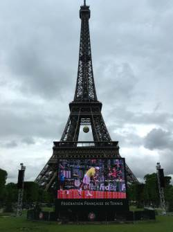 Eiffel Tower and the French Open