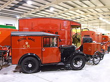Antique Post Office Vans