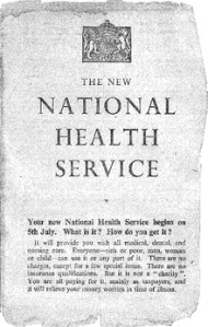 Original NHS leaflet