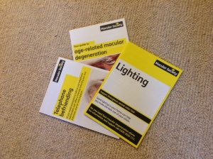 Leaflets from the Macular Society